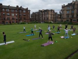 International Yoga Day Fundraising